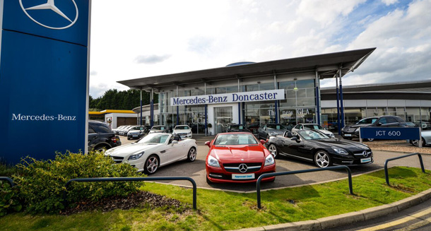 Mercedes benz doncaster approved dealer jct600 for Mercedes benz dealer northern blvd