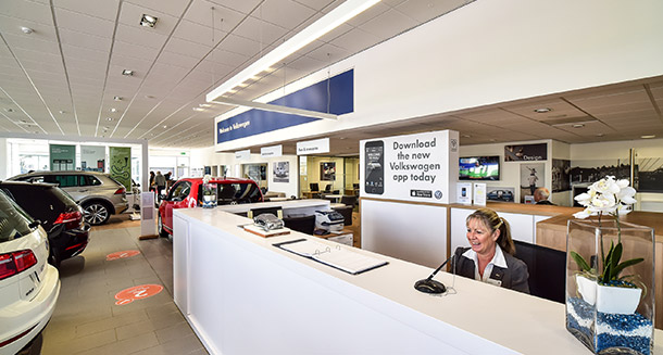 volkswagen dealer
