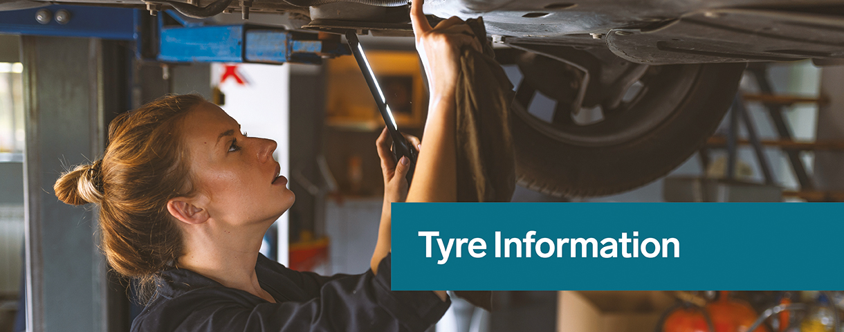 Tyre Information Banner